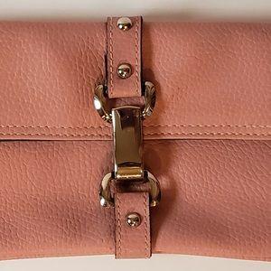 Fashion Express Bags - Fashion Express Rose Pink Wristlet Clutch